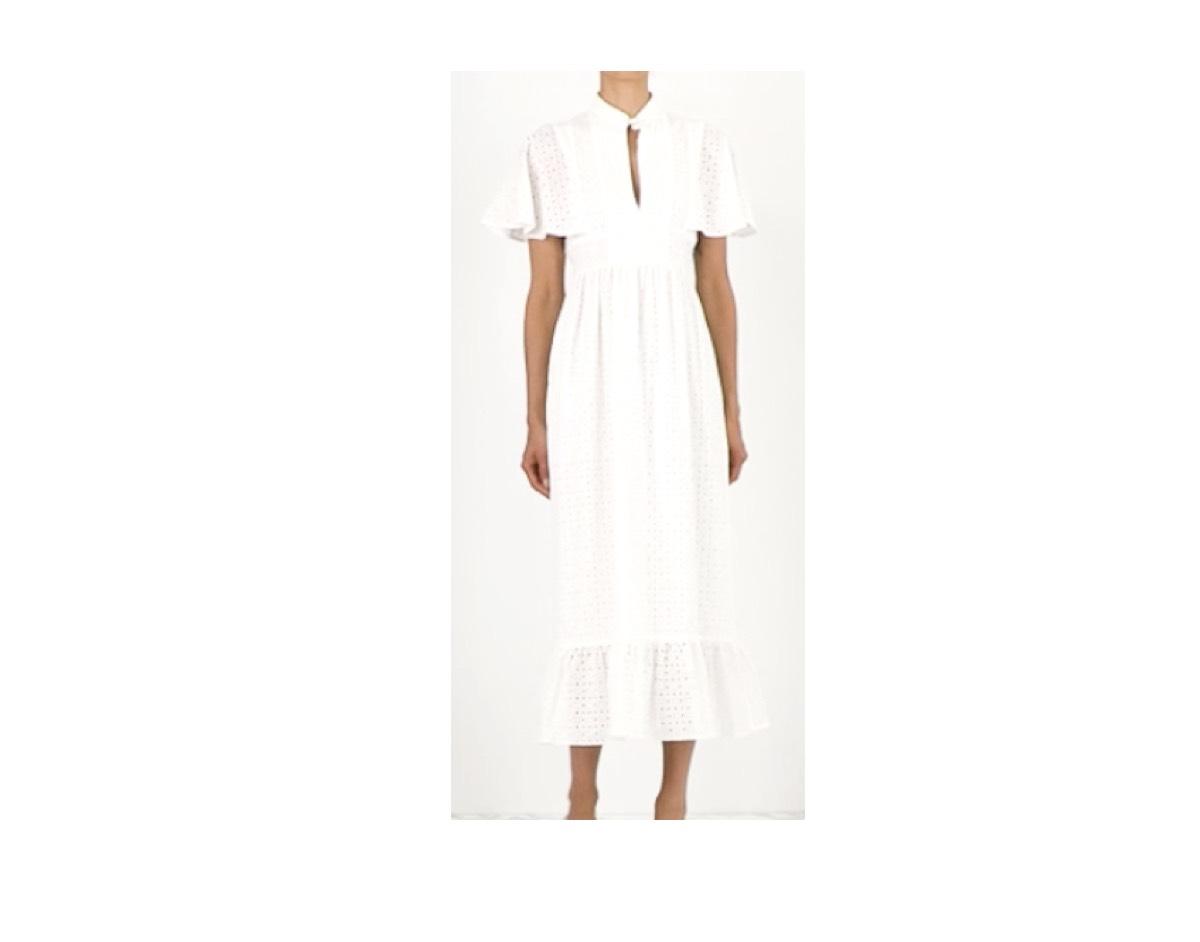 新垣結衣(ガッキー)さんが【十六茶「おいし?」篇】で着用しているファッション・衣装(白いフレアワンピース)【十六茶】《新垣結衣(ガッキー)》さん衣装(白いフレアワンピース)のブランドはこちら♪