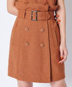 REDYAZEL ベルト付きミニタイトスカート