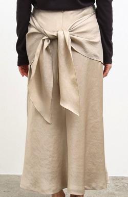 ROPE' mademoiselle フロントノットマーメイドスカート
