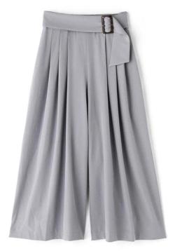 PROPORTION BODY DRESSING サイドバックルガウチョパンツ