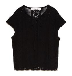 FURFUR レース編みセーター