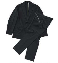 g-stage ポケッタブルナイロントロッタースーツ ジャケット&パンツセット