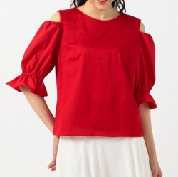 TOCCA Puff Sleeve Tシャツ/トッカ