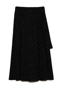 FRAY.I.D リネンナロースカート