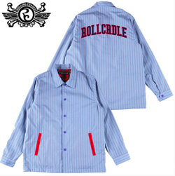 ROLLINGCRADLE STRIPE COACH JACKET