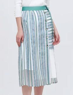LOVELESS シアーストライプスカート