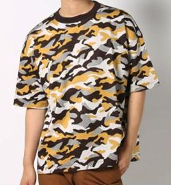 UNITED TOKYO カモフラオーバーサイズTシャツ