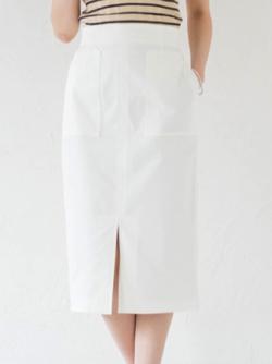 Loungedress ミリタリータイトスカート