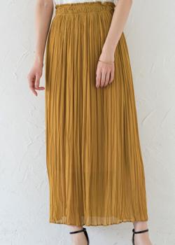 Loungedress ロングギャザースカート