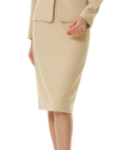 M-PREMIER ダブルクロスタイトスカート