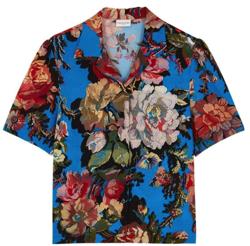 Dries Van Note Cabo Floral-Print Shirt
