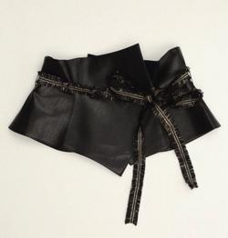 KIIRO 立体obibelt leather