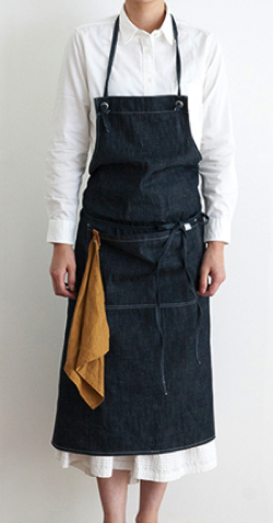 Simply STAR DENIM APRON
