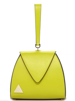 ADINA MUSE TRIANGLE RETRO HANDLE MUSTARD