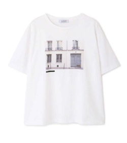 HUMAN WOMAN フォト転写Tシャツ