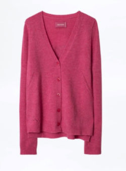 ZADIG & VOLTAIRE(ザディグエヴォルテール ) Nerys Art Strass Cachemire Cardigan