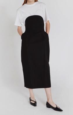 RECTO  half cicle panel skirt