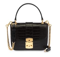 MIU MIU クロコダイルパターン ハンドバッグ