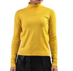 MAX MARA kipur virgin wool turtleneck sweater