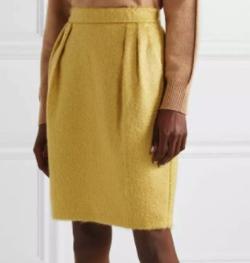 MAX MARA  yellow turchia mohair blend