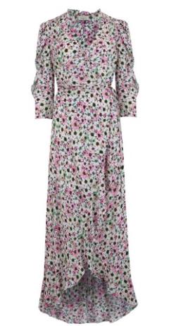 Berenice REESE FLORAL PRINTED DRESS - VENICE BEACH