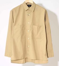 SLICK (スリック)タイプライタービッグポケットシャツ