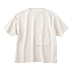 KURO(クロ)Sleeve Topped Russellish Jersey Tee