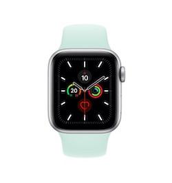 Apple Apple Watch シルバーアルミニウムケースとスポーツバンド