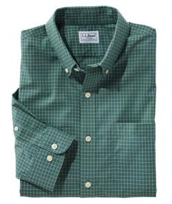 L.L.Bean(エルエルビーン)Wrinkle-Free Check Shirt, Long-Sleeve