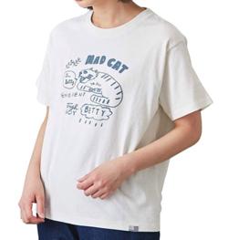 CUBE SUGAR USコットン OE天竺 クリエイターズコラボ クルーネック Tシャツ