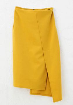 aquagarage アシンメトリータイトスカート