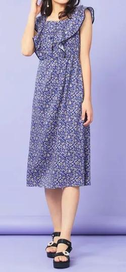 TOCCA Ipeker Print ドレス