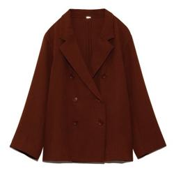 Mila Owen スリーピースシャツライクダブルジャケット