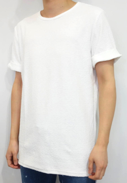 RESOUND CLOTHING RANDOM PILE ROLL UP TEE