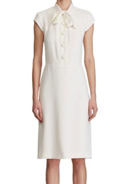 Ralph Lauren Collection Carlisle Cap-Sleeve Shirtdress