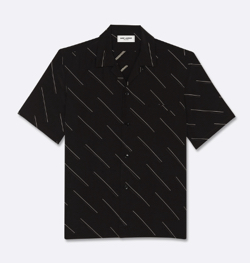 Saint Laurent シャークカラーシャツ