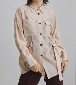 UNITED TOKYO ルミナスオーガンバックスリットシャツ