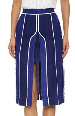 Acne Studios Kent Linen Skirt