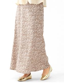 flower nuance flower skirt ~ニュアンスフラワースカート