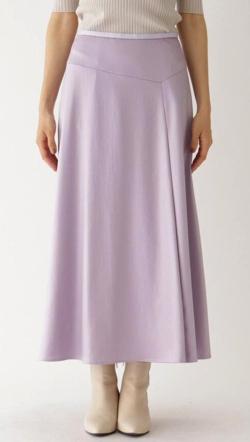 aquagirl チンツサテンドレープスカート