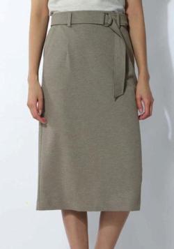 BOSCH 麻調ジャージーセットアップスカート