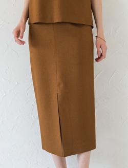 Loungedress リネンライクタイトスカート
