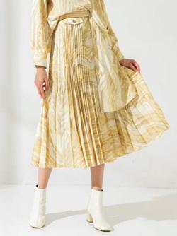 UNITED TOKYO SUMINAGASHIプリントスカート