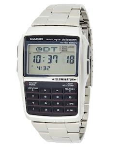 CASIO(カシオ)DATA BANK データバンク 腕時計