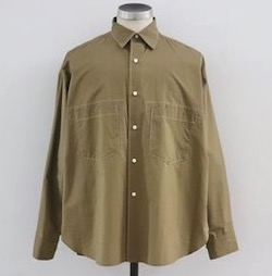 UNITUS (ユナイタス)SS20 Stiched Work Shirt