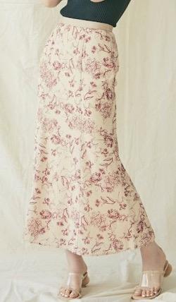 LAGUNAMOON Modernアジサイスカート