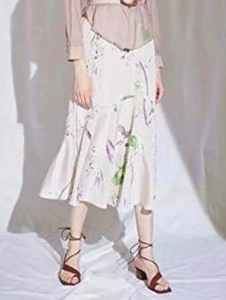 LADYMADE (レディメイド)Blooming Flower アシメセミフレアスカート