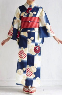 ふりふ 浴衣「Natural Furifu」