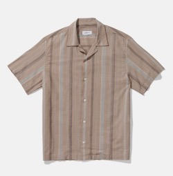 Saturdays NYC Canty Bay Stripe S/S Shirt