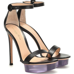 gianvito rossi shiva leather plarform sandals